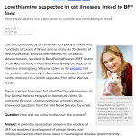 Cat Pet Sitter Food Recall